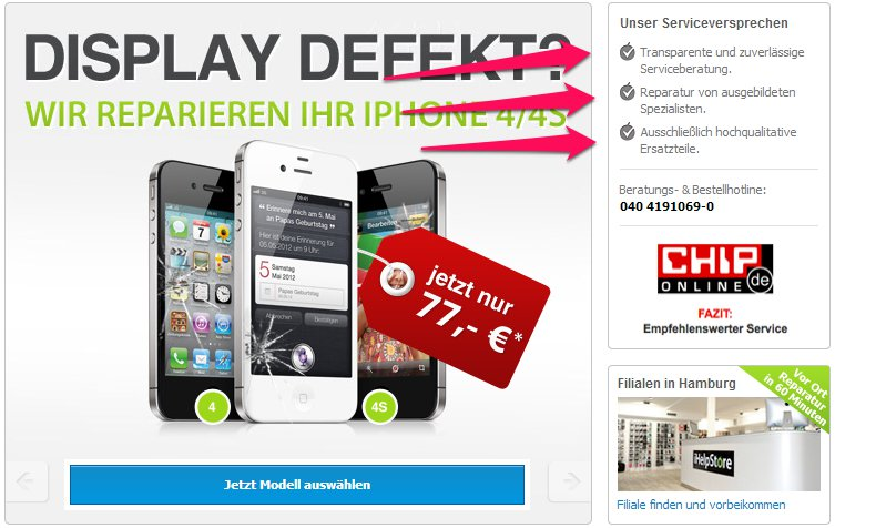 iphone reparieren hamburg